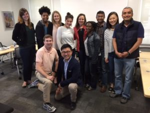 UGA Graduate Students with Sarah Fallaw